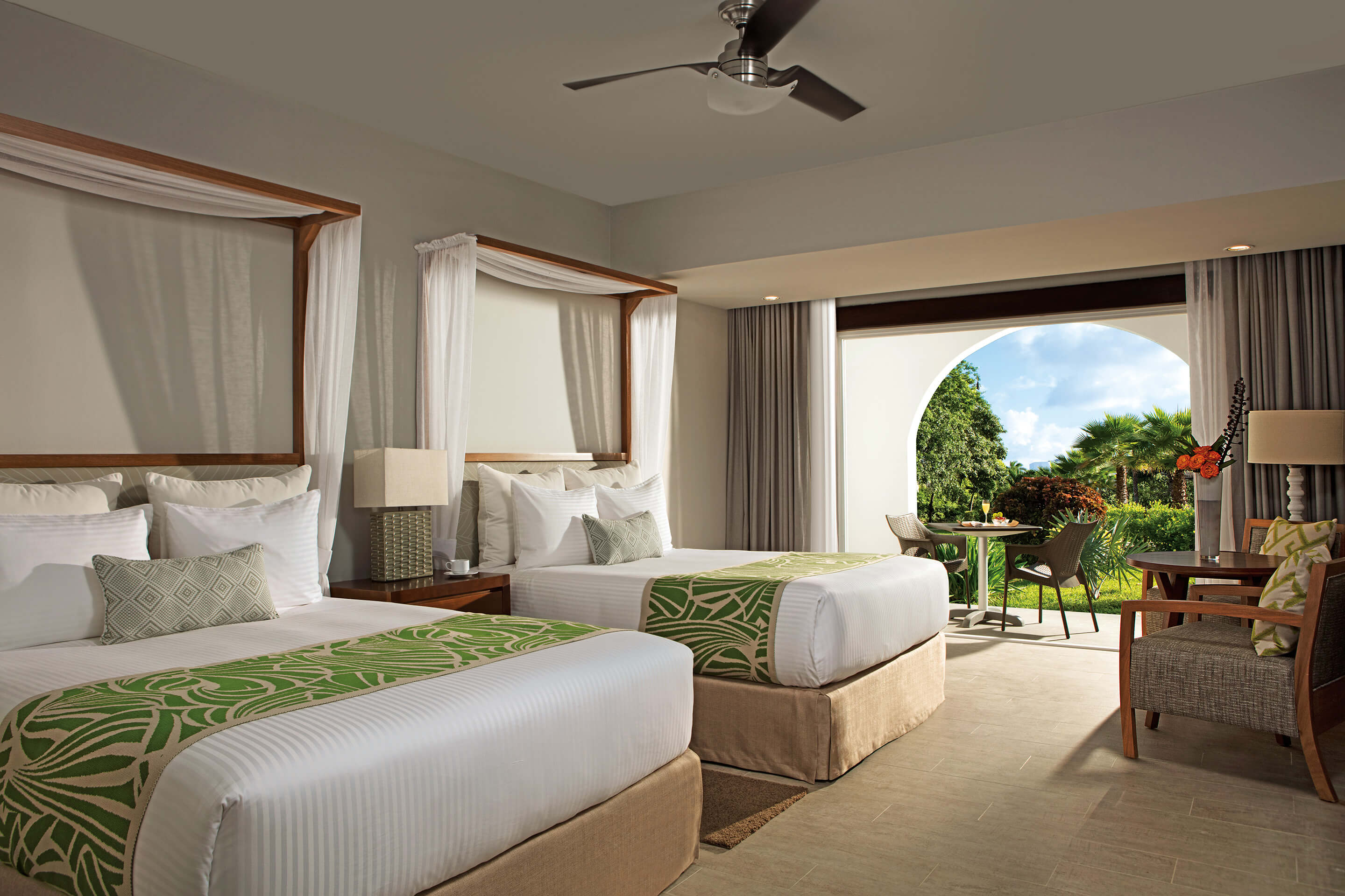 Dreams Dominicus La Romana - Deluxe Tropical View Room - Beds