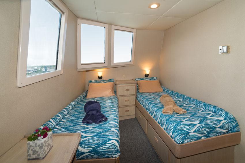 Turks & Caicos Explorer II - Main Deck Staterooms